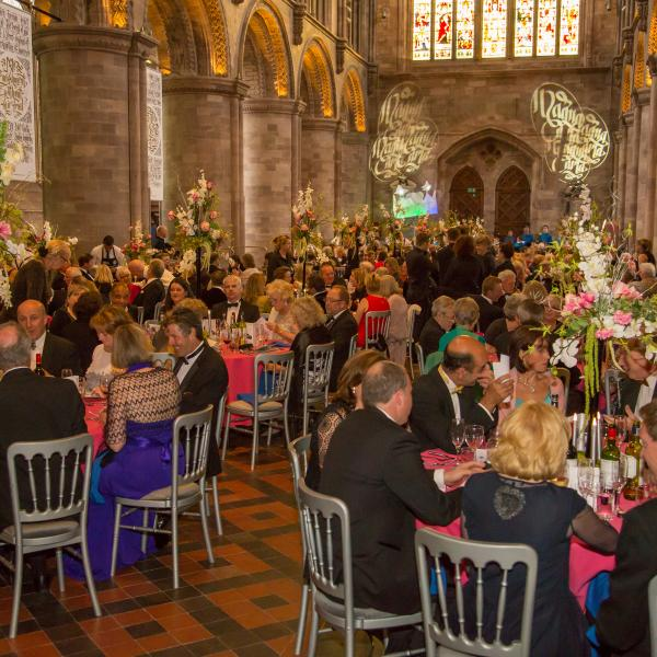 Hereford Cathedral Nave Dinner